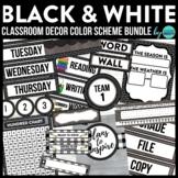 BLACKLINE DESIGN- CLASSROOM DECOR & MORE BUNDLE (black, wh