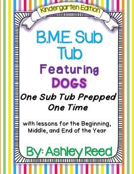 BME Sub Tub for Kindergarten