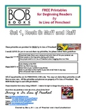 BOB Books Printables for Beginning Readers: Set 1, Book 8