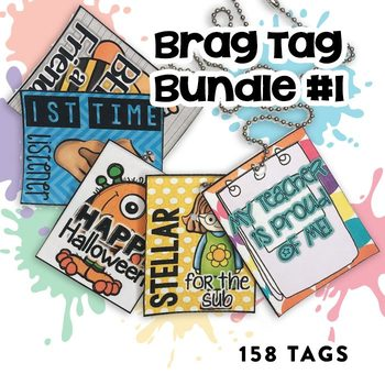 BRAG TAG BUNDLE (195 pages!)