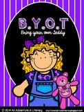 BYOT Bring Your Own Teddy Bear Day