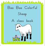 Baa Baa Colorful Sheep