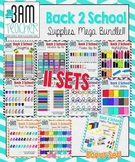 Back 2 School Supply List: Updated Bundle with 280 graphics!!!