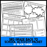 Back-To-School Activity Packet - 3rd Grade