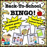 Back To School BINGO Game!