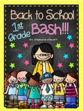 Back To School Bash 1st Grade {Back to School Unit}