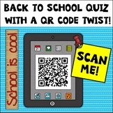 {Freebie} Back To School Quiz With A QR Code Twist!