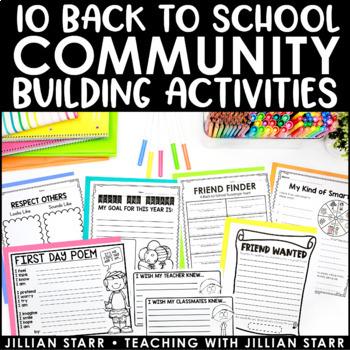 Back to School Activities to Build Community