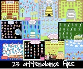 Back to School Attendance Smartboard Morning  23  Interact