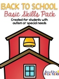 Back to School Basic Skills Activity Pack {for students wi