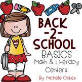 Back to School Basics: 10 Math and Literacy Centers