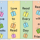 Back to School  Butterfly Bookmarks