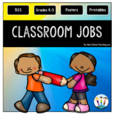 Back to School Classroom Jobs Pack for Elementary Grades