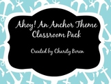 Back to School Classroom Set- Pirate/Nautical/Anchor Theme