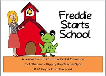 Back to School Emergent Reader with Freddie Frog