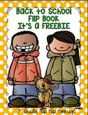Back to School Flip Book Freebie!