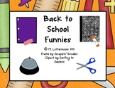 Back to School Funnies: Classroom Management Using Jokes