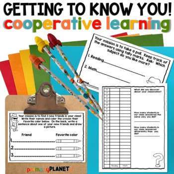 Back to School : Getting to Know You