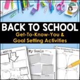 Back to School Activities - Goal Setting