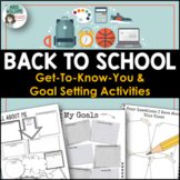 Back to School Activities - Goal Setting