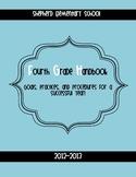 Back to School Handbook for Your Classroom *Editable*