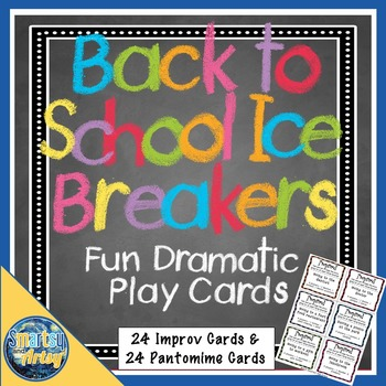 Back to School Ice Breakers - Fun Drama Prompt Cards