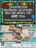 Back to School Interactive Notebook Activities and Flip Bo