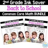 Back to School: Common Core Printables & Centers Bundle {2