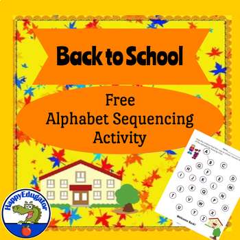 Back to School - Kindergarten Language Arts Practice FREEBIE