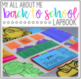 Back to School Lapbook Memory Book - Grades 1 through 5 {