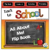 Back to School: All About Me Flip Up Book for Grades 2-5