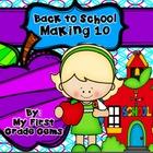 Back to School Making 10 Freebie!