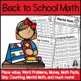Back to School Math