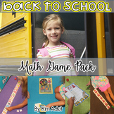 Back to School Math Game Pack