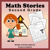 Back to School Math Stories - Second Grade