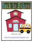 Back to School Math and Literacy Fun