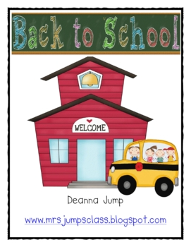 Back to School Math and Literacy Fun