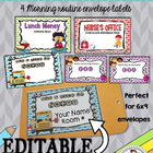 Back to School Morning Mail Envelope Covers