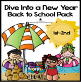 Back to School (Ocean theme) Dive Into a New Learning Adventure