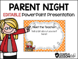 Back to School~ Open House Parent PowerPoint Presentation~