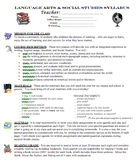 Back to School Packet & PowerPoint - Letter, Behavior Cont