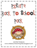 Back to School Pirate Pack