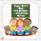 Back to School Portable File Folder Word Walls