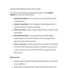 Back to School Review - Scientific Method/Measurement (7-12)