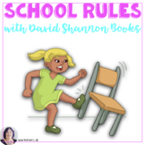 """Back to School Rules with """"David Goes to School""""  for earl"""