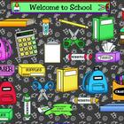 Back to School SMARTBoard Template Game