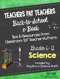 Back to School Science eBook for Grades 6-12 (2014-15 scho