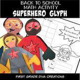 Beginning of the Year Activities Superhero Glyph