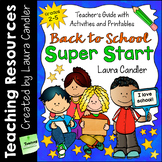 Back to School Super Start (Teacher's Guide and Printables)