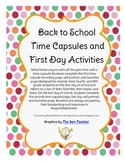 Back to School Time Capsules